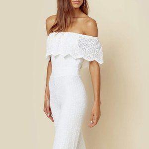 Nightcap Diamond White Lace Jumpsuit